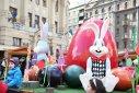 Imaginea articolului GALERIE FOTO Cuib cu ouă colorate şi atelierul iepuraşului la Târgul de Paşti din Timişoara