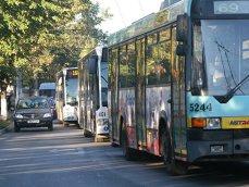 Imaginea articolului FOTO GREVĂ spontană la societatea de transport public Ploieşti. Doar 30% din autobuze sunt pe traseu