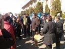 Imaginea articolului GALERIE FOTO Cu salarii RESTANTE de 4 ani, angajaţii ultimului combinat de utilaj greu au protestat la Iaşi