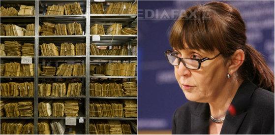 Imaginea articolului Neregulile găsite de comisia din 2007 în arhiva SIPA: Documente copiate, acte lipsă şi un xerox depozitat chiar în arhivă, precum şi acte care au ajuns la fostul ministru Monica Macovei