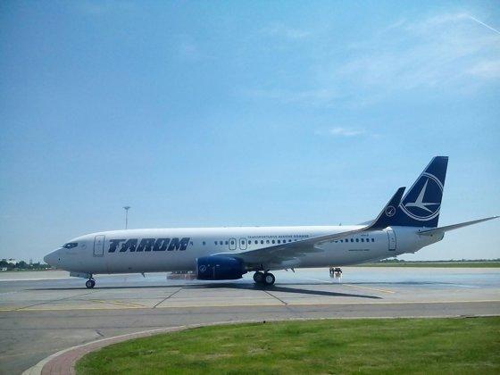 Imaginea articolului ALERTĂ AVIATICĂ. Un avion Tarom care circula de la Frankfurt la Bucureşti a aterizat la Timişoara din cauza unui senzor defect