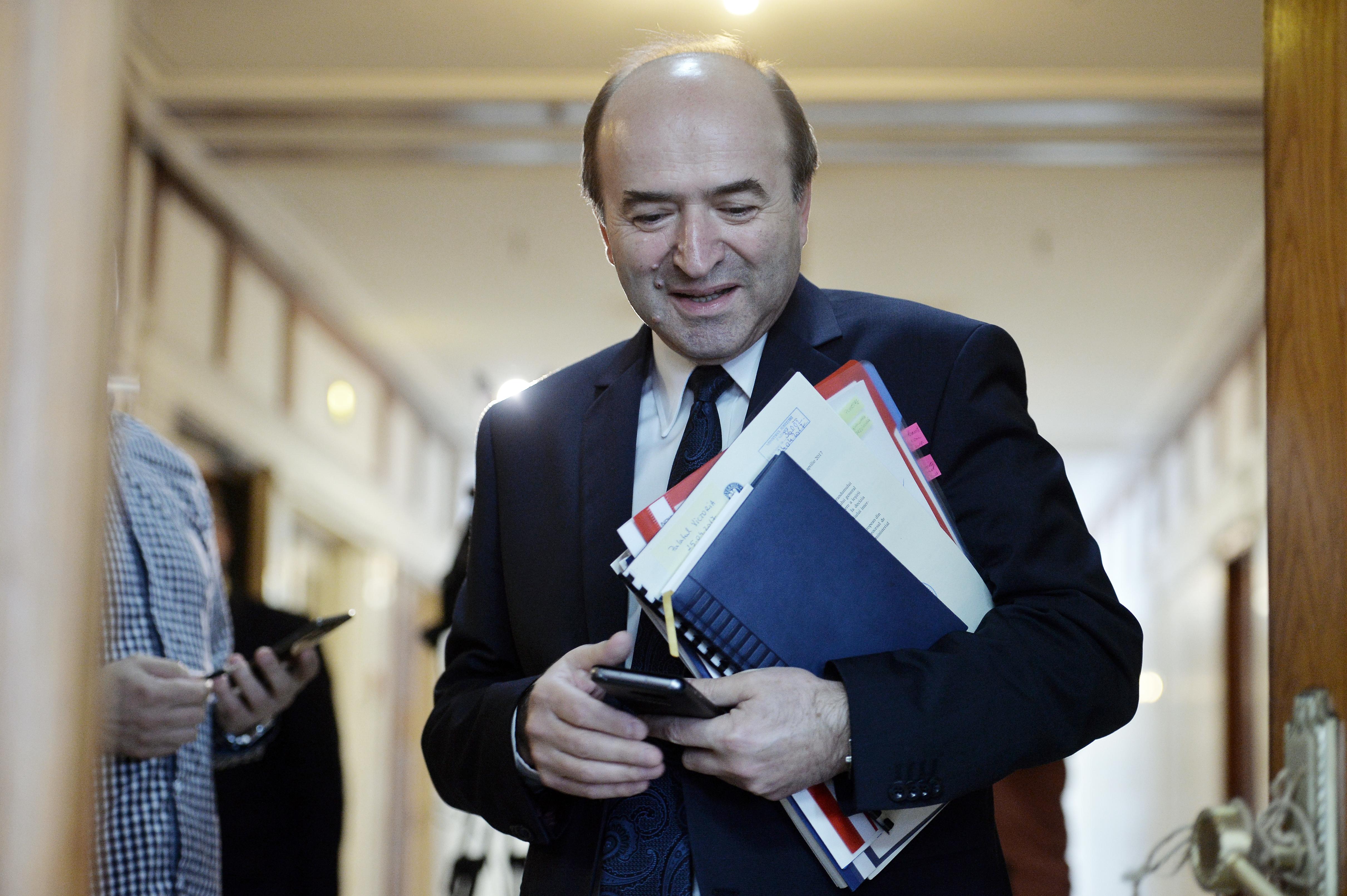 Tudorel Toader, ministrul Justiţiei: Proiectul de lege pentru modificarea legilor justiţiei are ca termen de finalizare iunie 2017