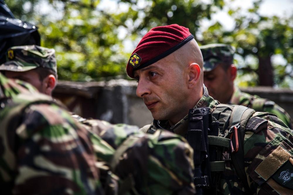 FOTO, VIDEO   `NATO Noble Jump 2017`: Antrenamentele vor culmina cu un exerciţiu cu trageri reale de luptă