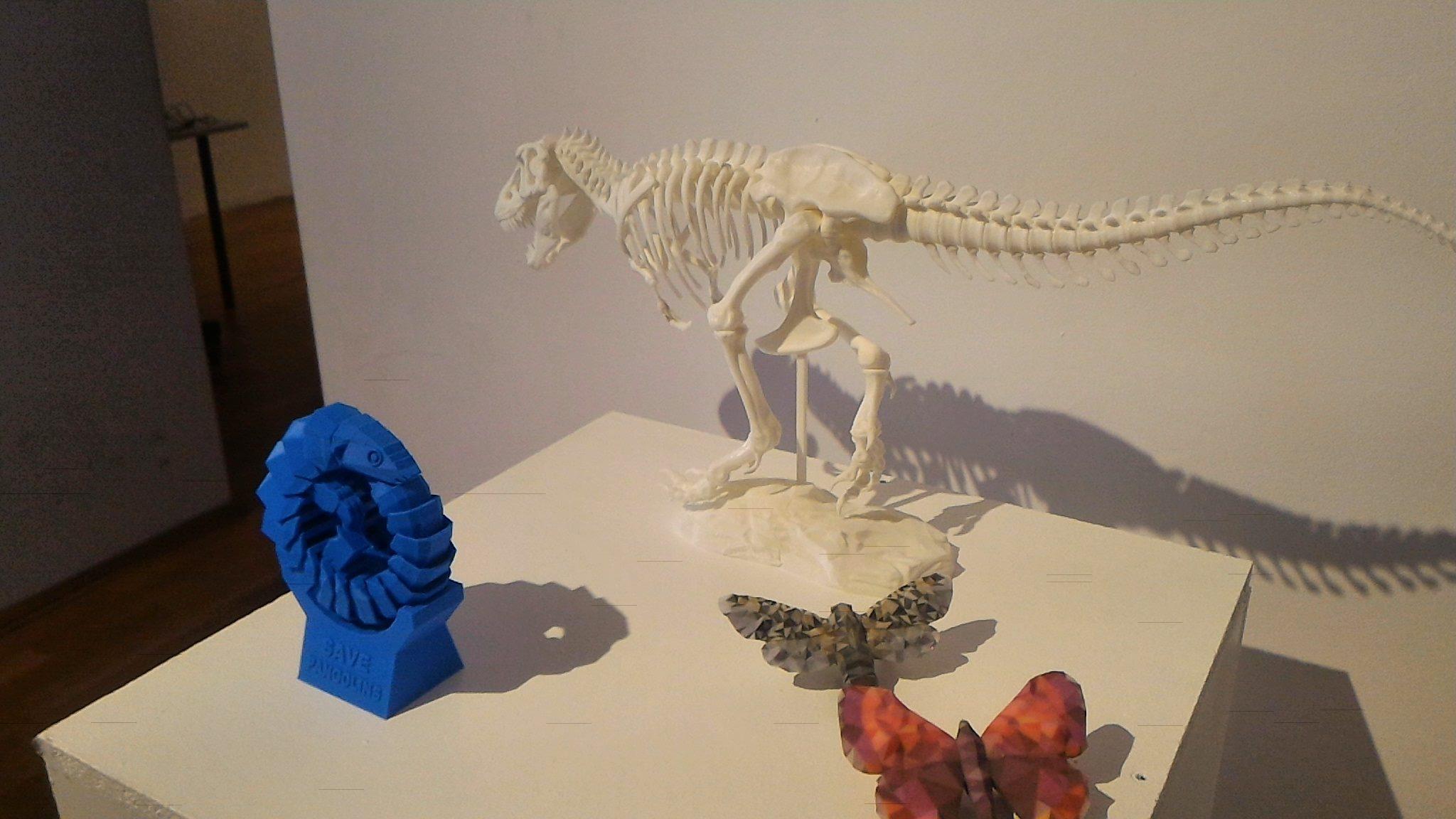 FOTO Expoziţie în premieră la Cluj: Castelul Bran, un exoschelet de dinozaur şi proteze printate în 3D