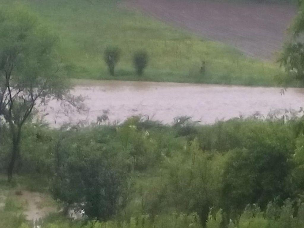 Sute de hectare inundate, drumuri comunale şi podeţe, distruse în urma unei viituri