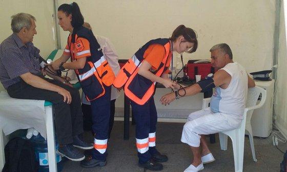 Imaginea articolului Canicula face victime în Capitală: Aproape 4.000 de intervenţii în cele trei zile de temperaturi foarte ridicate