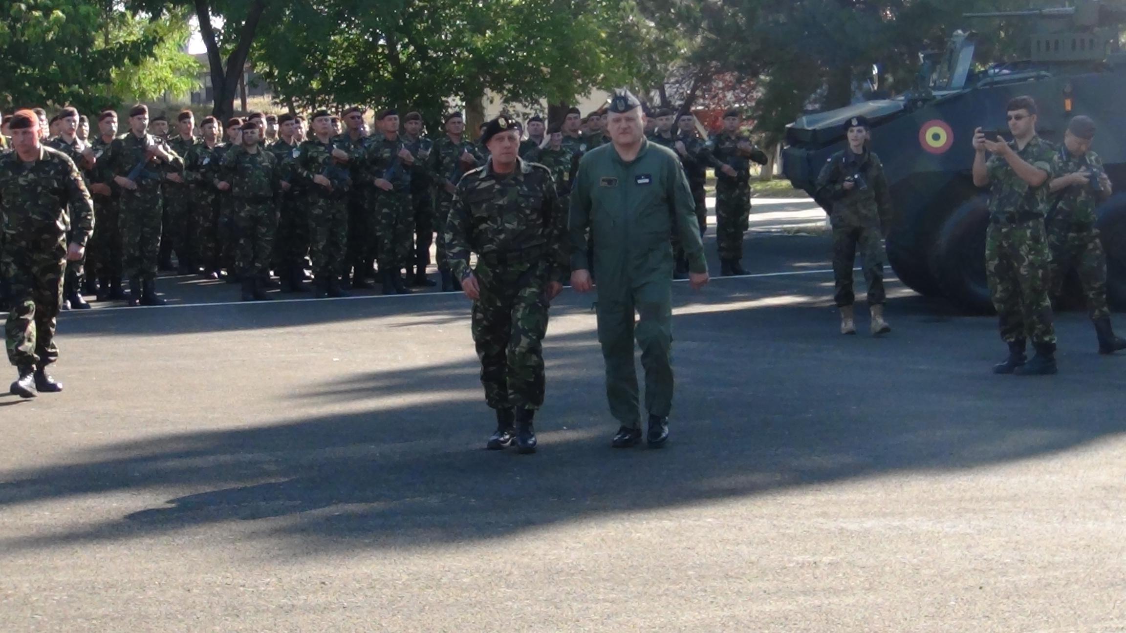 GALERIE FOTO   Peste 200 de militari polonezi se instruiesc cu cei craioveni din Brigada Multinaţională Sud-Est