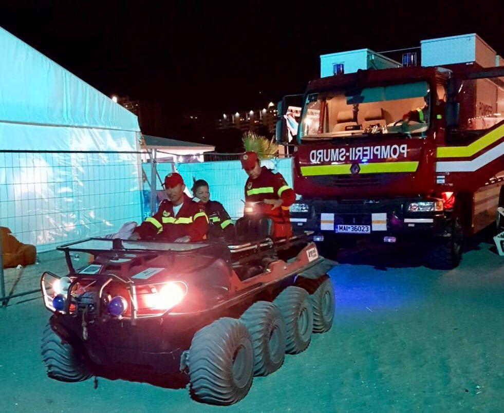 FOTO Incidente la festivalul NEVERSEA. Peste 550 de persoane au avut nevoie de ajutor medical pe plajă