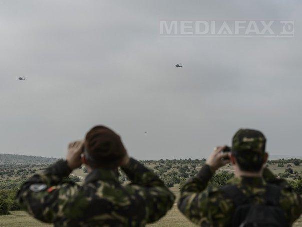 Cel mai mare exerciţiu militar derulat în România, Saber Guardian 2017, are loc în peste 20 de poligoane şi raioane, inclusiv la Marea Neagră