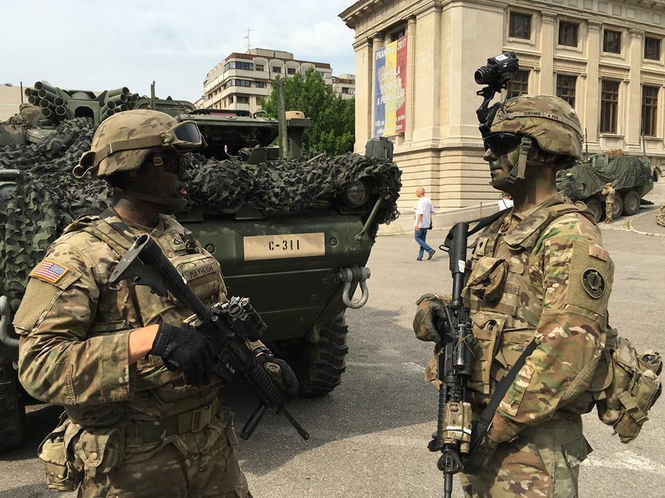 Saber Guardian 2017: Aproximativ 8.000 de militari din Forţele Terestre Române participă la exerciţiile multinaţionale din ţară şi străinătate