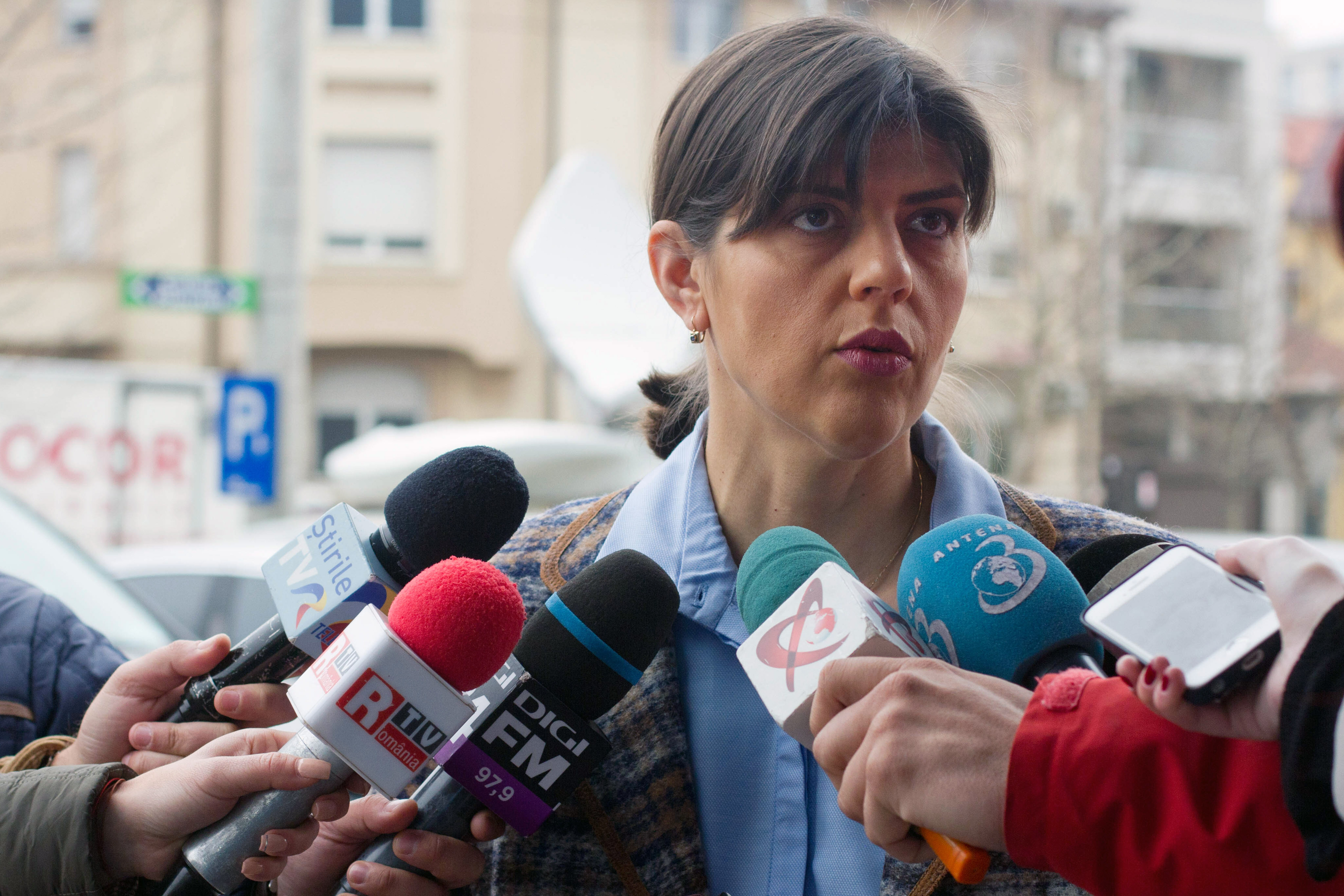 Laura Codruţa Kovesi, despre înregistrările apărute în spaţiul public: Înregistrările prezentate la TV nu sunt autentice. Sunt expresii pe care nu le folosesc