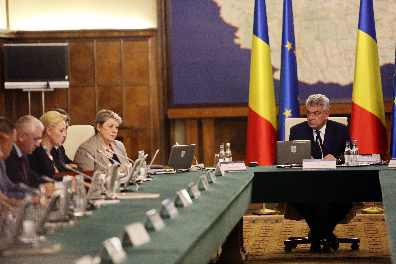 Mai mulţi procurori au ridicat documente de la Secretariatul General al Guvernului