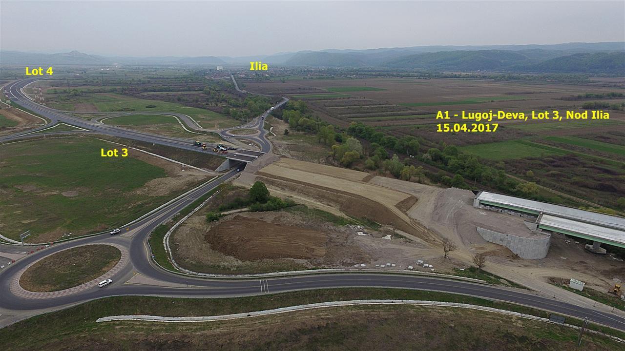 Din septembrie, şantierele de autostrăzi vor fi filmate oficial cu drona. Imaginile vor deveni publice