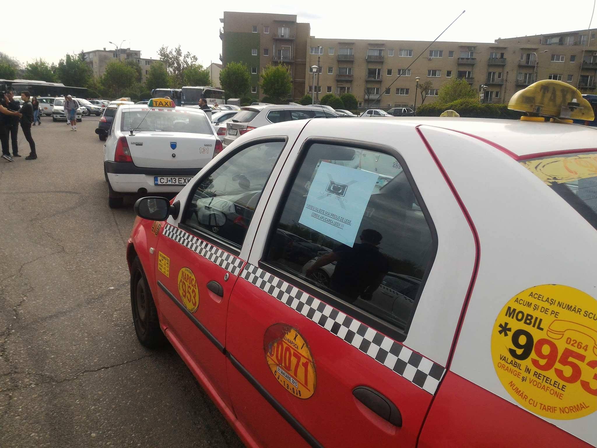 Asociaţia pentru Drepturile Taximetriştilor Independenţi pregăteşte un protest în Capitală. Când va avea loc acesta şi cum îi va afecta pe cetăţeni
