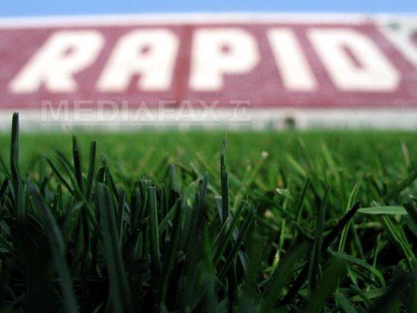 Primăria Sectorului 1 a înfiinţat noul club Rapid. Sigla şi marca, închiriate de la vechea formaţie