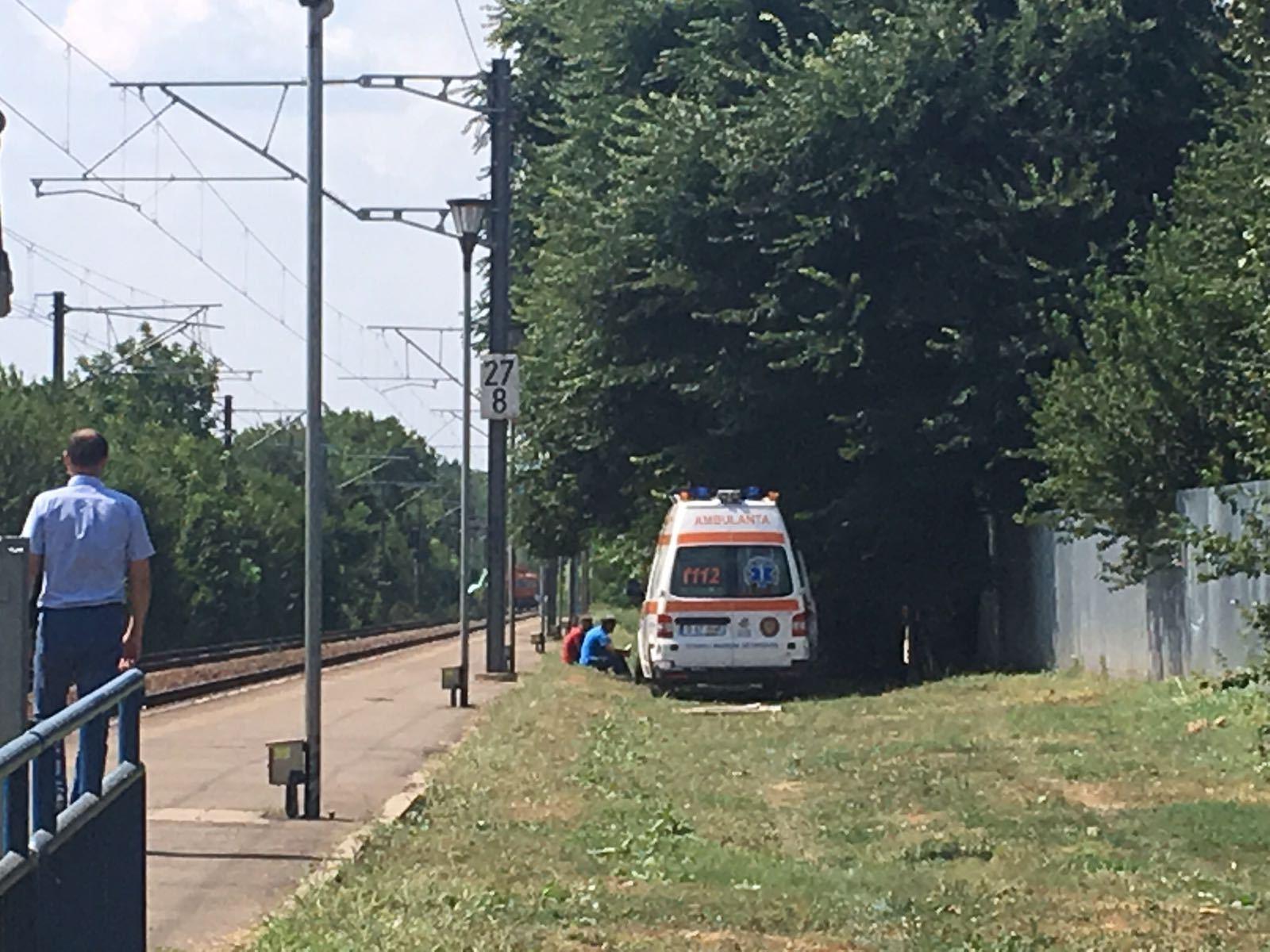 Femeia care s-a aruncat cu cei trei copii ai săi în faţa trenului era gravidă şi suferea de depresie. `Nu voia să mai aibă un copil`/ Aceasta ar fi fost de două ori internată la Spitalul de Psihiatrie