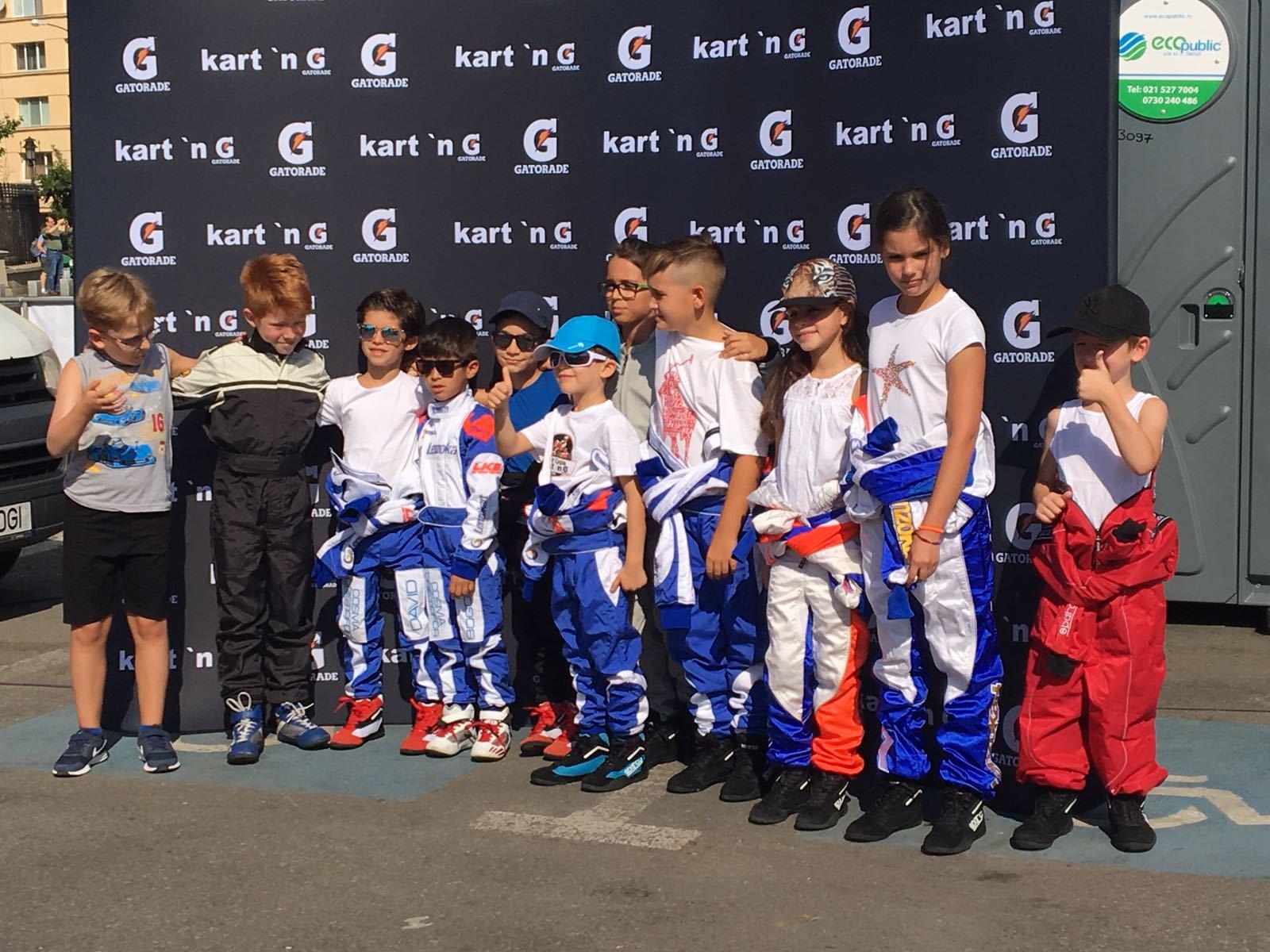 FOTO, VIDEO | Premieră MONDIALĂ la Bucureşti: SuperCupa României la karting electric pentru copii, un eveniment plin de viteză şi distracţie