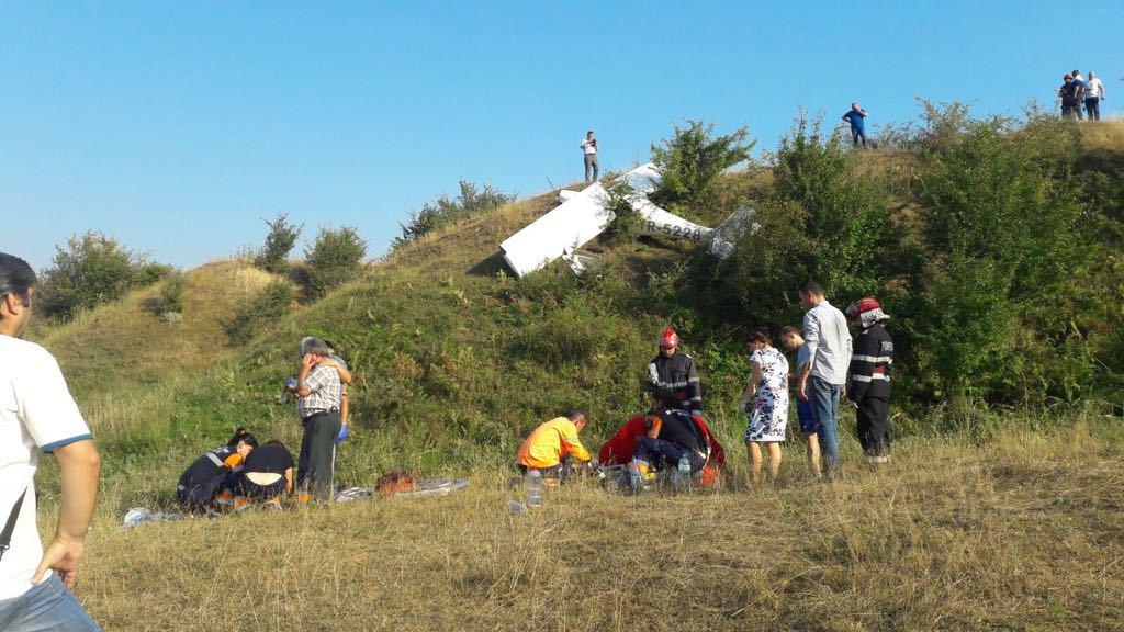 Primar din Tătăruşi, locul unde a avut loc accidentul aviatic: O astfel de tragedie se putea întâmpla oricui. Am zburat cu unul din avioane