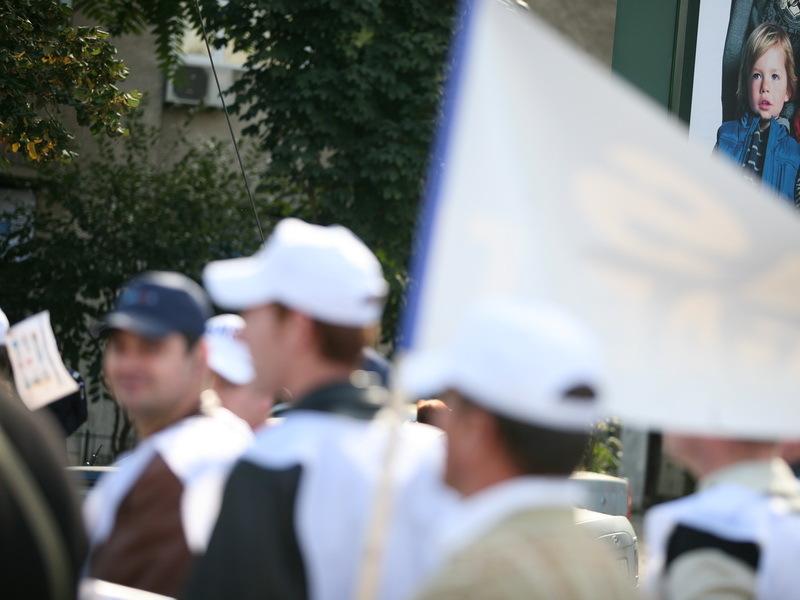 Persoanele cu dizabilităţi, protest faţă de OUG privind angajarea în Unităţi Protejate Autorizate