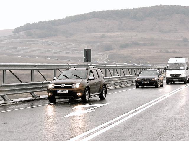 Centura de ocolire a municipiului Cluj-Napoca este în pericol din cauza unei alunecări de teren