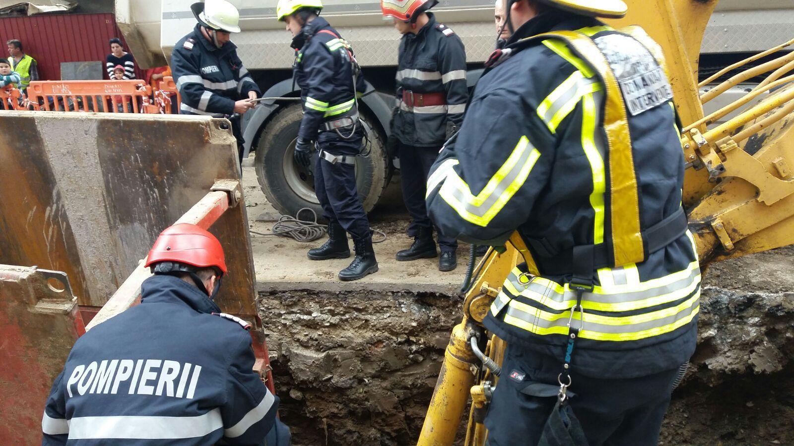 Tulcea: Bărbat mort după ce a fost surprins de un mal de pământ