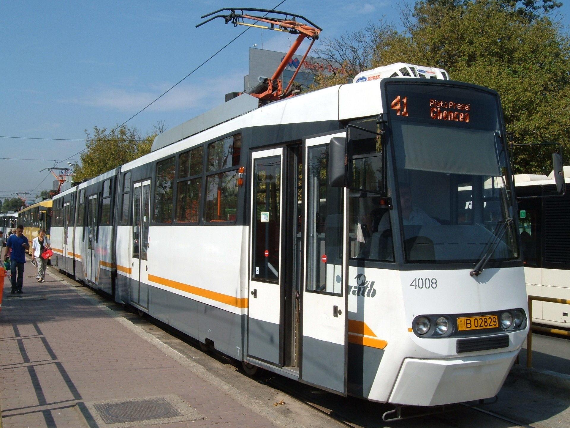 Tramvaiul 41 nu va circula în zilele 26 şi 27 august