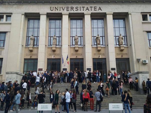 Studenţii de la Facultatea de Drept, împotriva vârstei minime de 30 de ani pentru a candida la admiterea în Institutul Naţional al Magistraturii