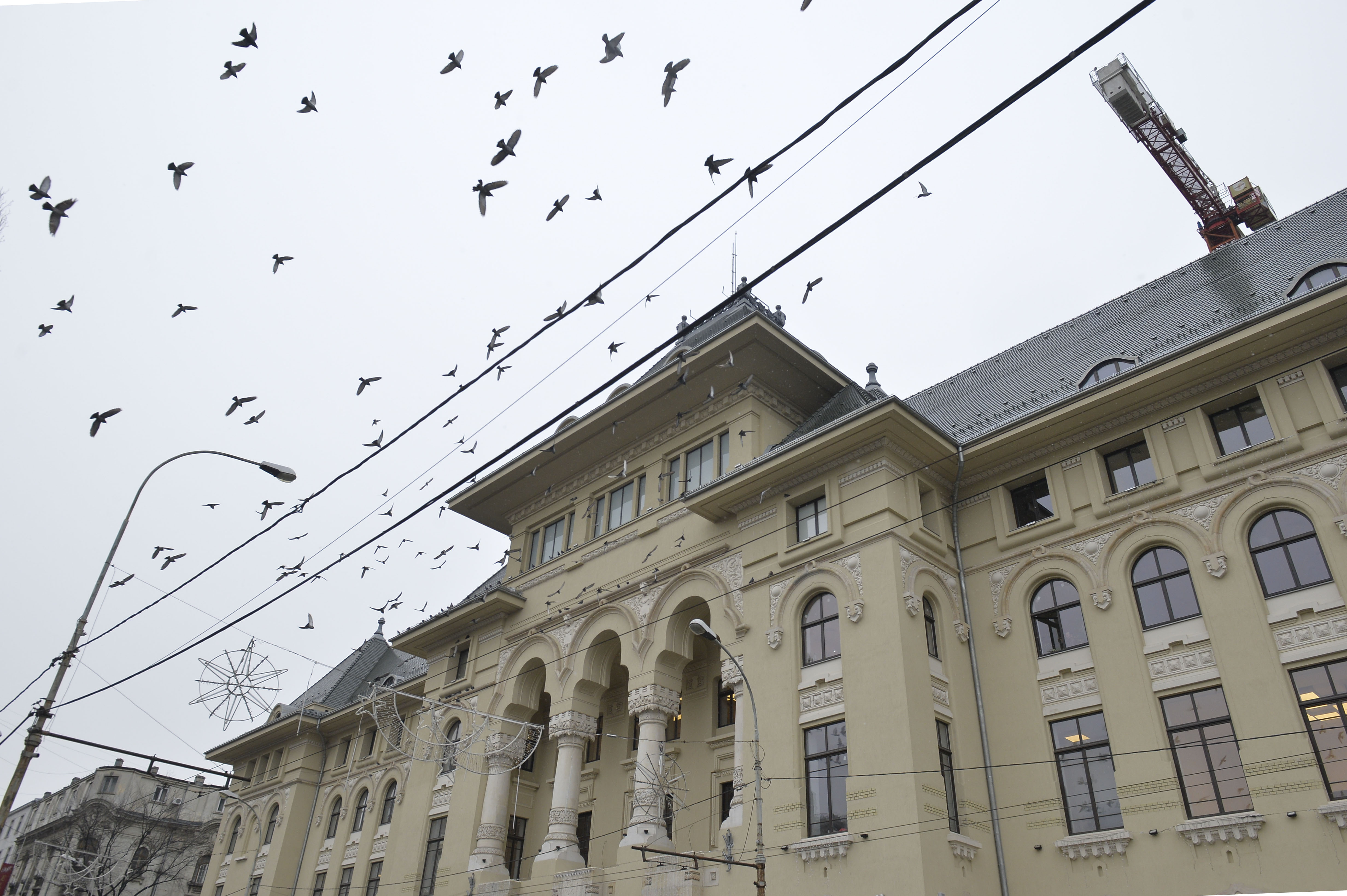 Primăria Capitalei, unde accesul este restricţionat în prezent, ar putea deveni obiectiv turistic