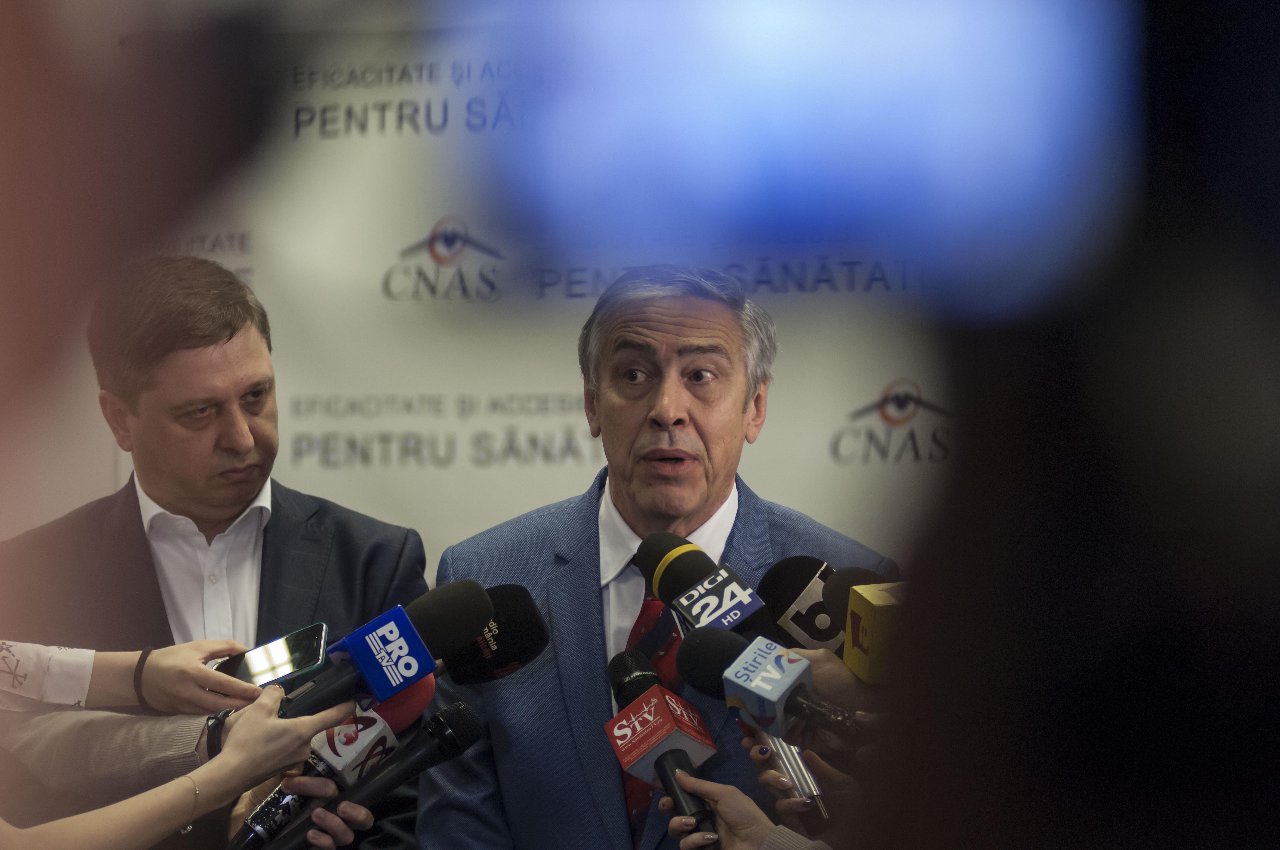 Marian Bucea, preşedintele CNAS, a fost reţinut de DNA