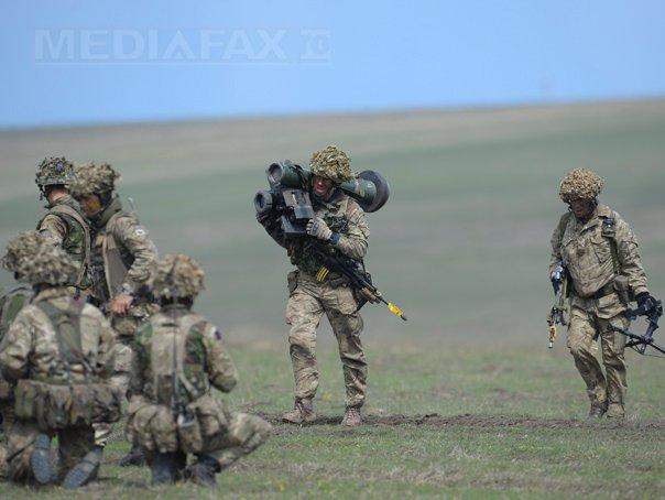 MApN: 45 de militari ai Forţelor Terestre Române, la exerciţiul multinaţional Agile Spirit-17