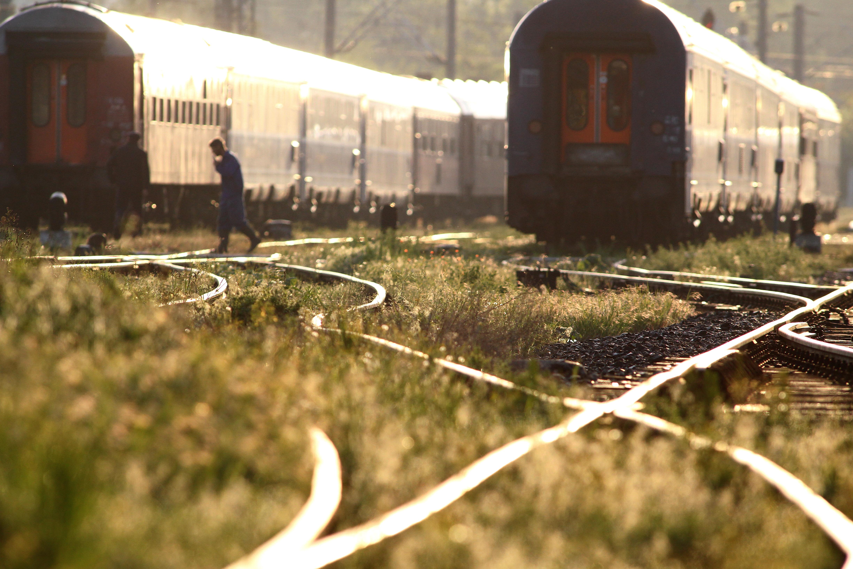Patru trenuri au avut întârzieri din cauza unui incendiu de vegetaţie, în judeţul Braşov