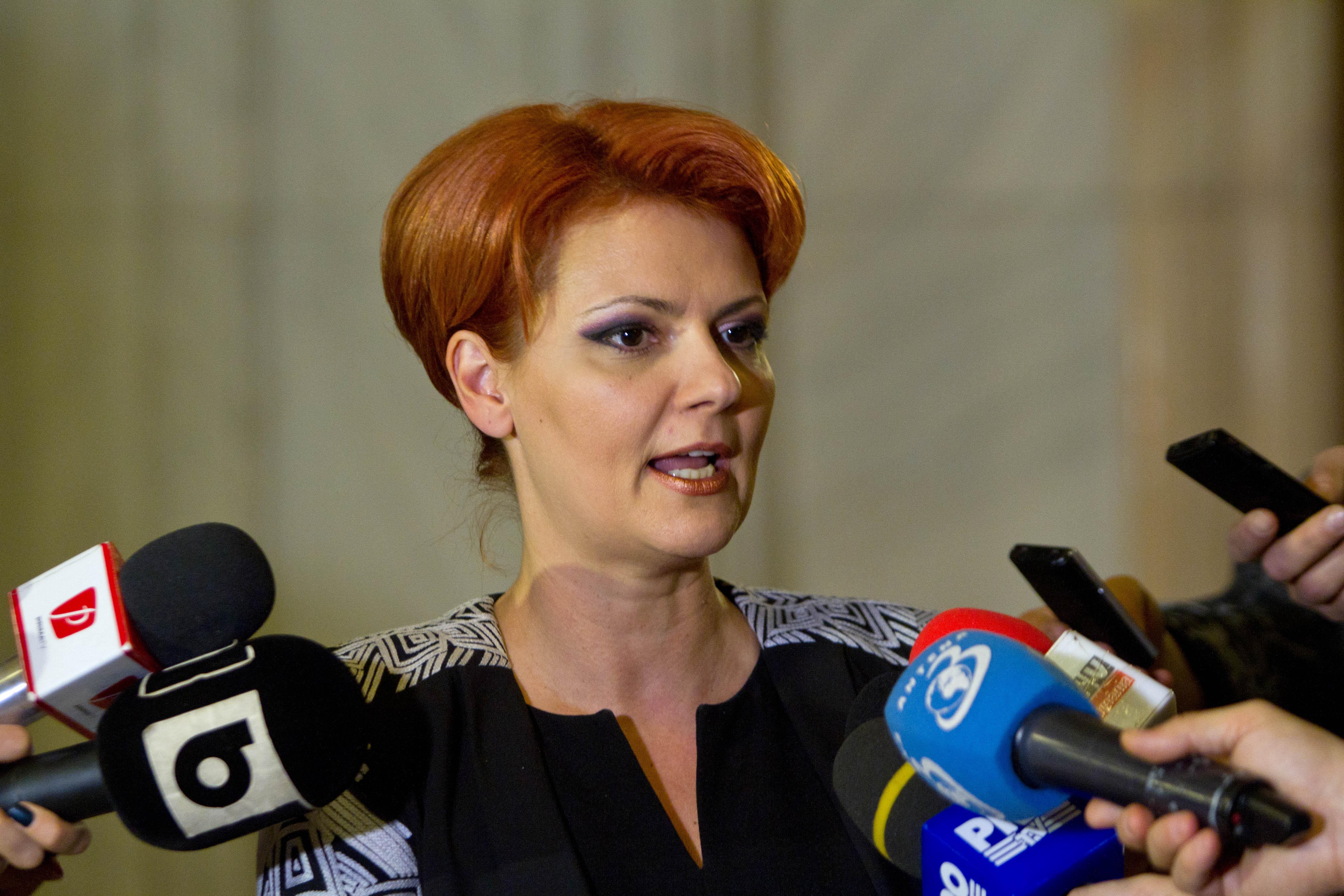 Olguţa Vasilescu: Puteam să nu mai dăm deloc indemnizaţiile pentru creşterea copilului. Explicaţiile ministrului pentru plafonarea alocaţiei de către Guvernul Tudose