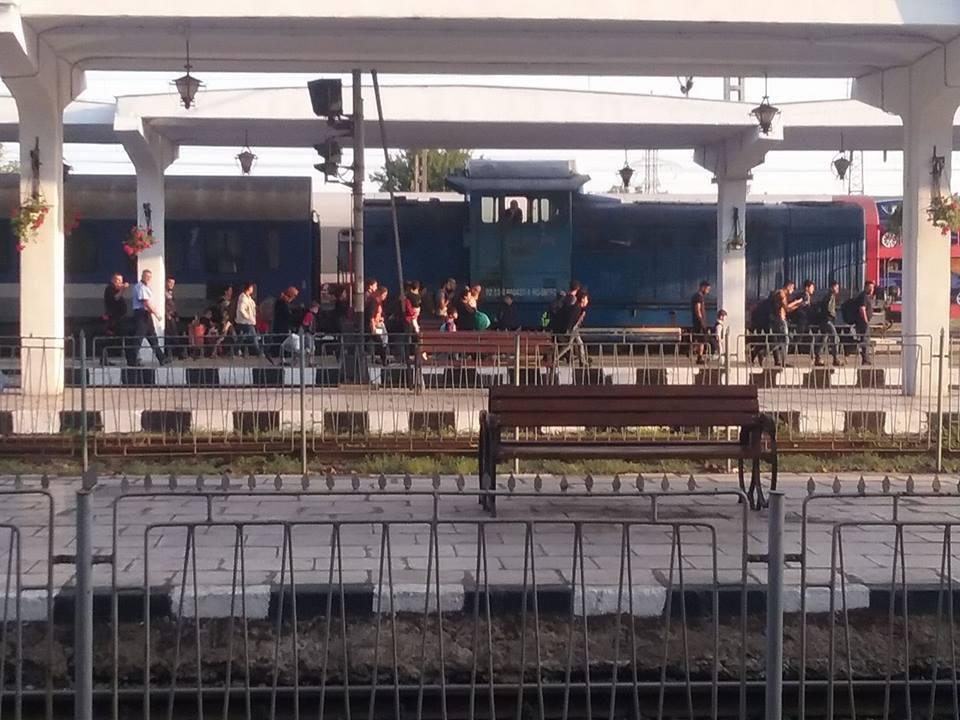 Zeci de imigranţi, care circulau cu trenul Bucureşti – Budapesta, verificaţi de poliţiştii din Timişoara