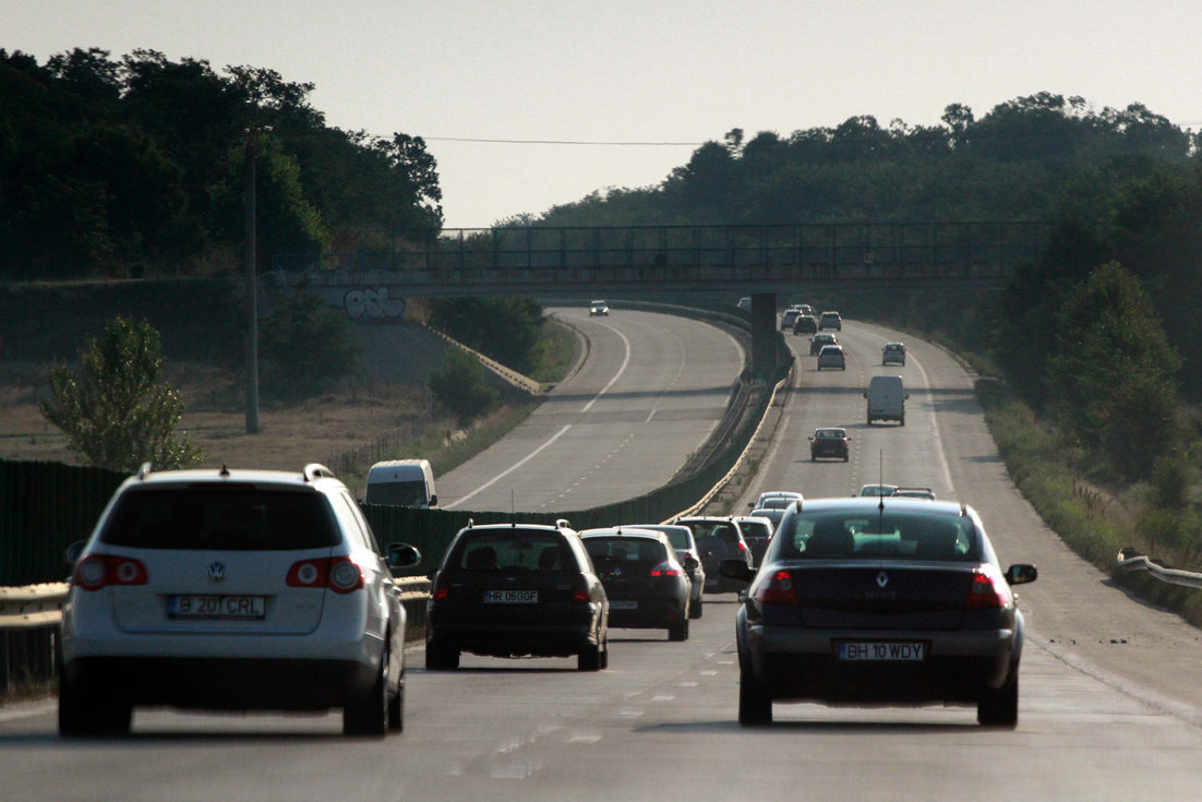 Lucrări pe Autostrada Soarelui: Traficul va fi redirecţionat, miercuri, până la ora 15.00
