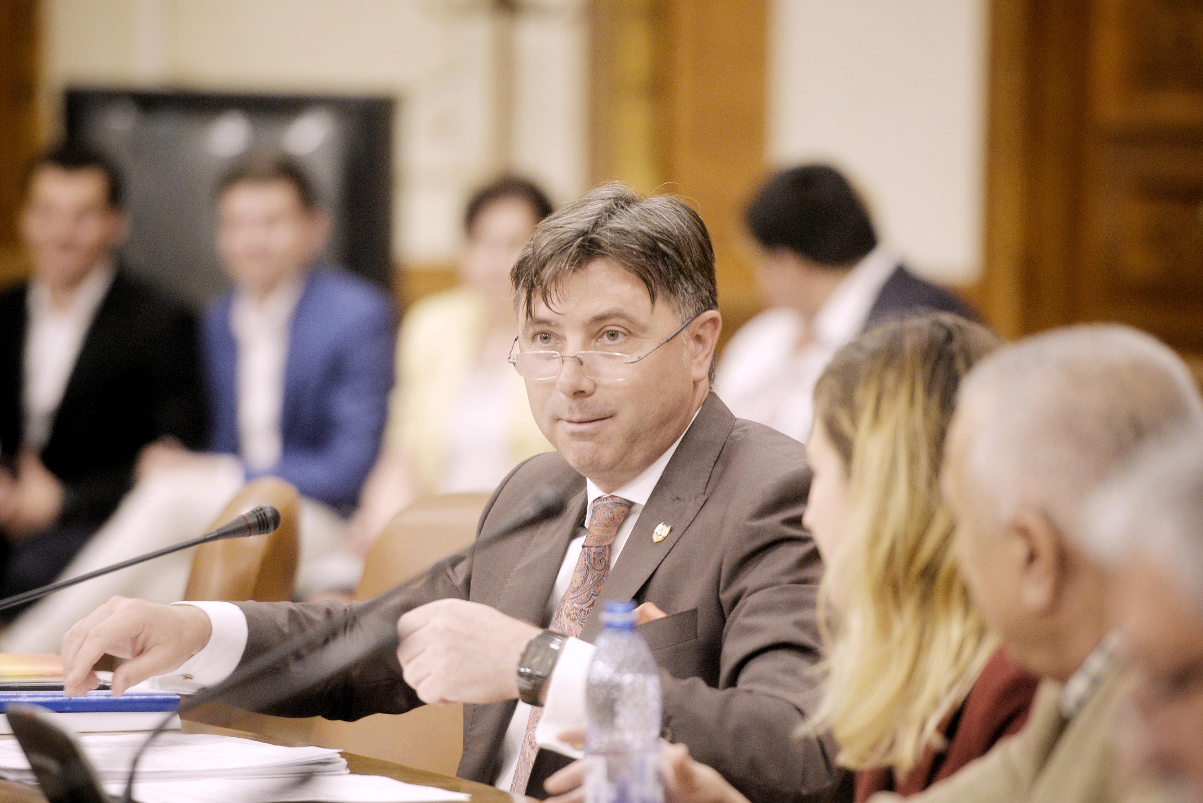 VIDEO   Ministrul pentru Relaţia cu Parlamentul, Viorel Ilie, este audiat în Comisia juridică a Senatului/ Raportul Comisiei juridice va fi supus votului plenului Senatului