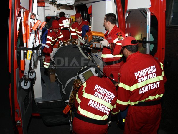 Un angajat al unui abator din Braşov a fost rănit după ce dintr-o instalaţie s-a împrăştiat amoniac