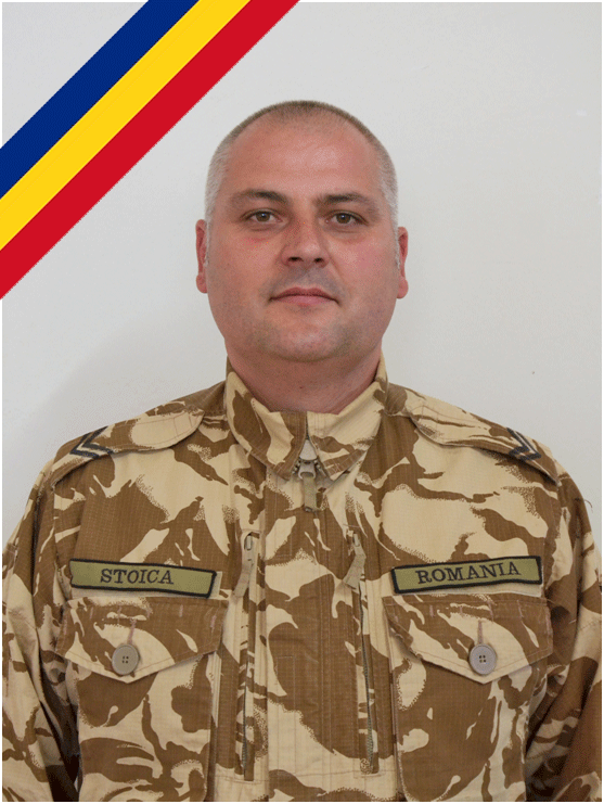 Mădălin Stoica, militarul român mort în Afganistan este repatriat luni