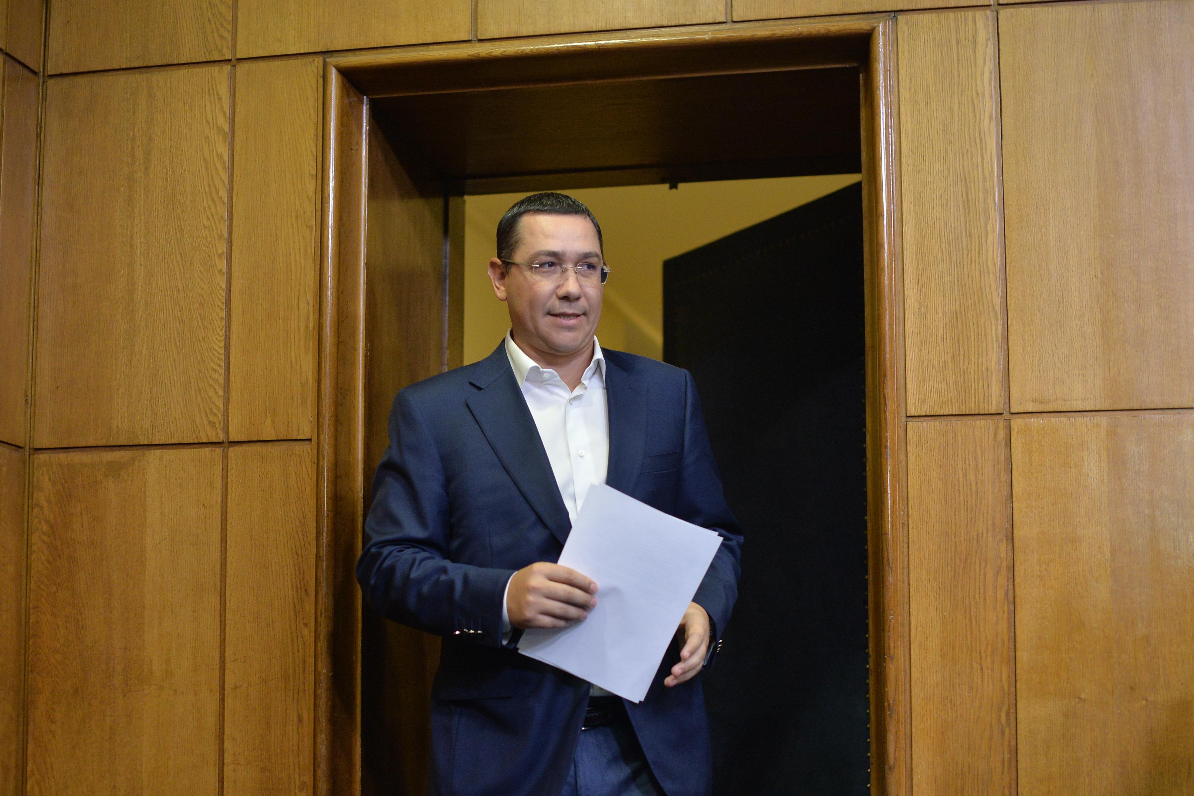 Victor Ponta, audiat la DNA ca martor într-un dosar de corupţie
