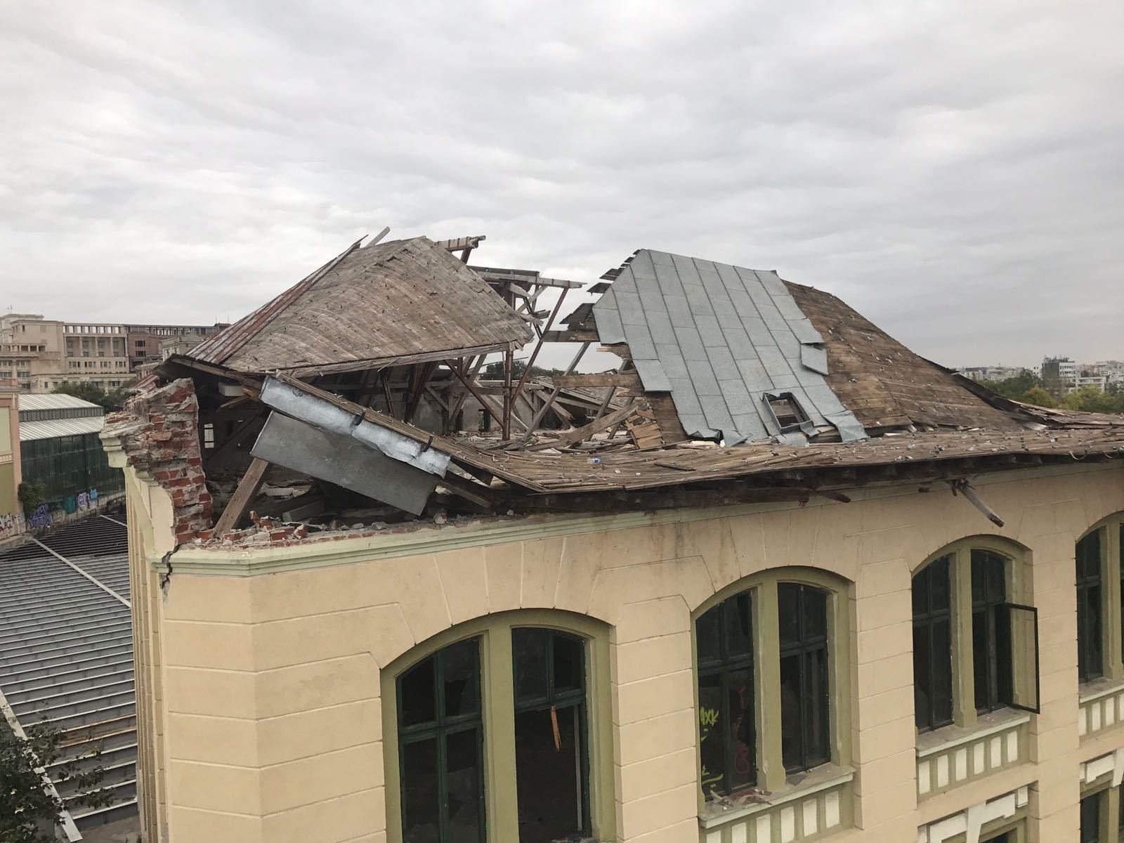 Proprietarul fabricii de bere, AMENDAT în ianuarie pentru starea degradantă a acoperişului. S-a solicitat sesizarea procurorilor