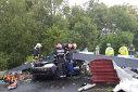 Imaginea articolului VIDEO | Momentul în care cade poarta de intrare în Timişoara, omorând un tânăr de 24 de ani
