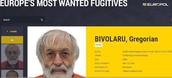 """Imaginea articolului Bivolaru, căutat de Europol. Liderul MISA, pe lista  """"Most Wanted Fugitives"""", alături de cei mai căutaţi infractori din Europa"""
