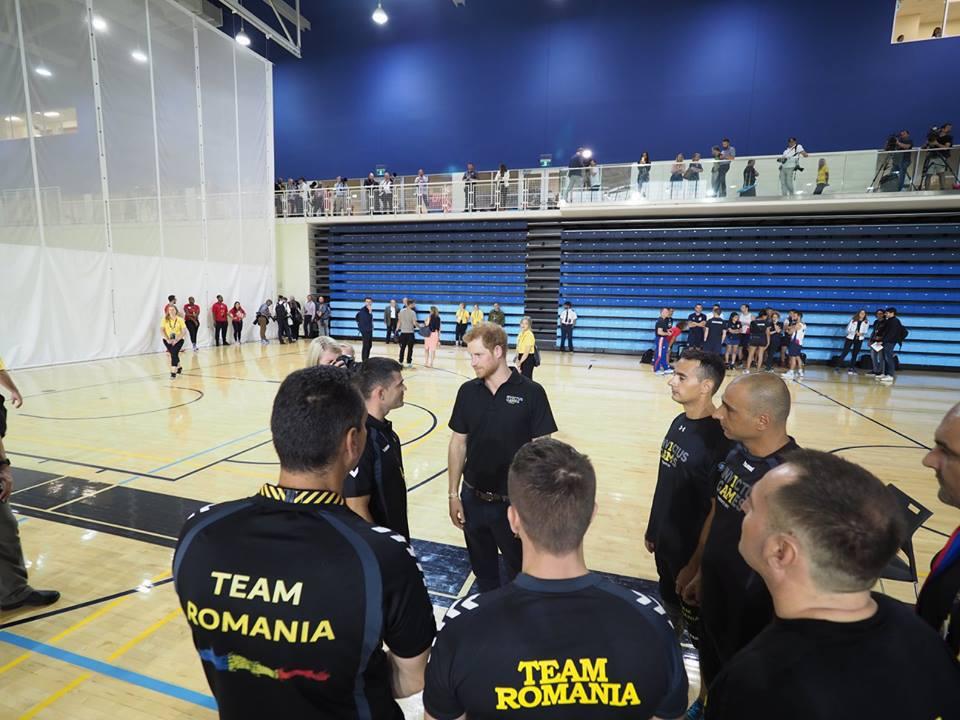 FOTO | Echipa `Invictus România`, reprezentată la Toronto de 15 militari răniţi sportivi, ÎNTÂLNIRE cu prinţul Harry
