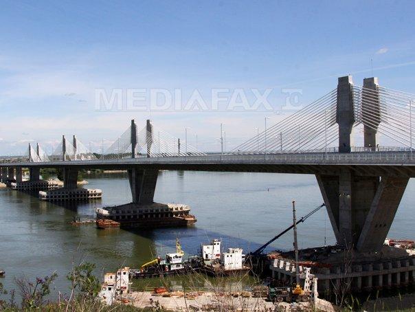Podul Calafat Vidin se închide de la ora 13.00 până la 15.00 pentru reparaţii/ Circulaţia va fi întreruptă şi joi