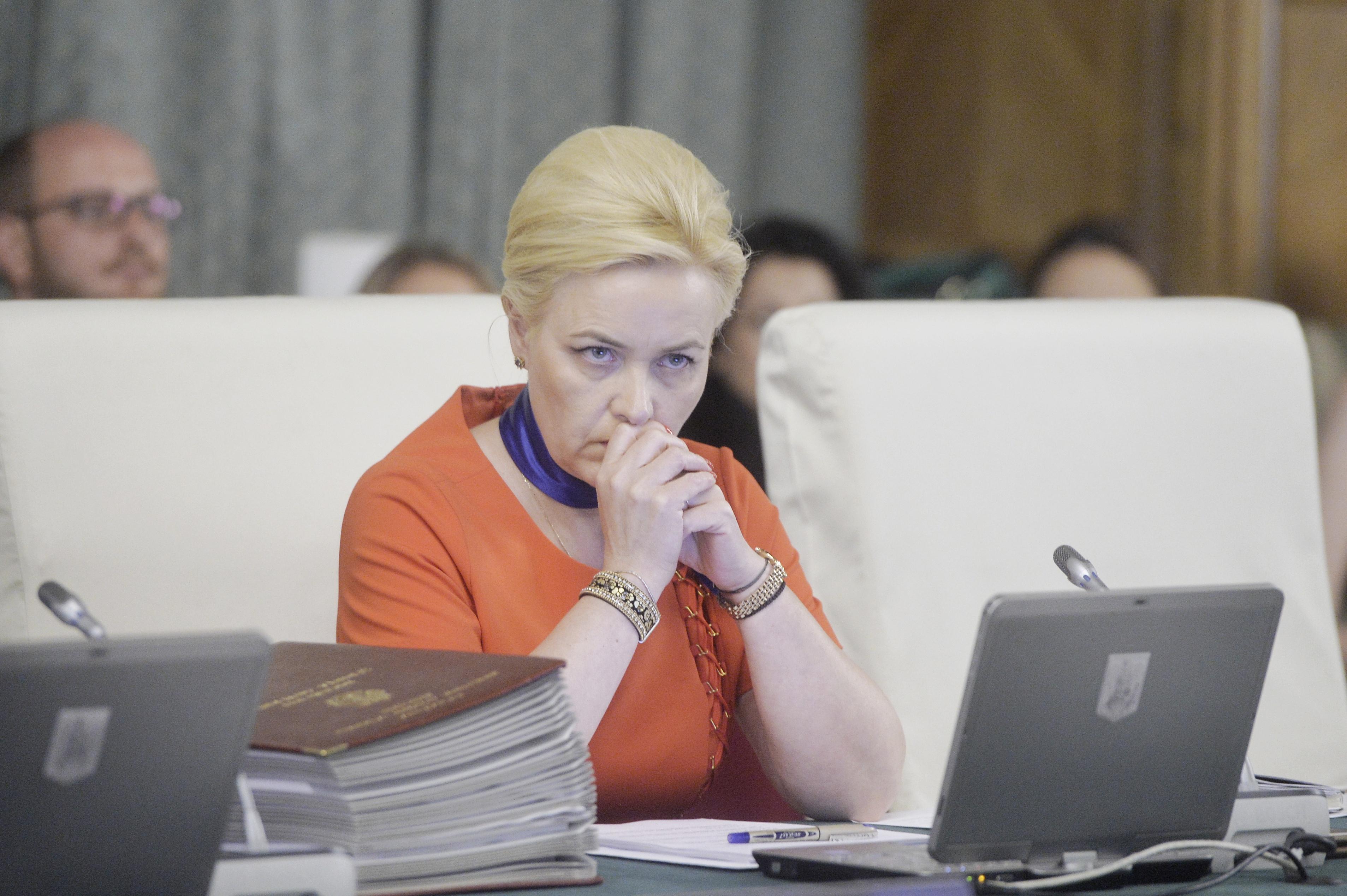 Carmen Dan, chemată în Parlament pentru explicaţii legate de pensionările şi reangajările din MAI