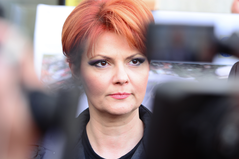 Ministrul Muncii, Lia Olguţa Vasilescu: Cinci milioane de pensii vor trebui recalculate