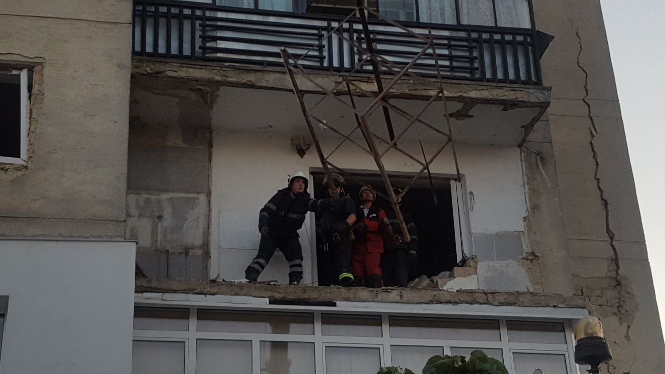Bărbatul rănit în explozia din Botoşani a murit