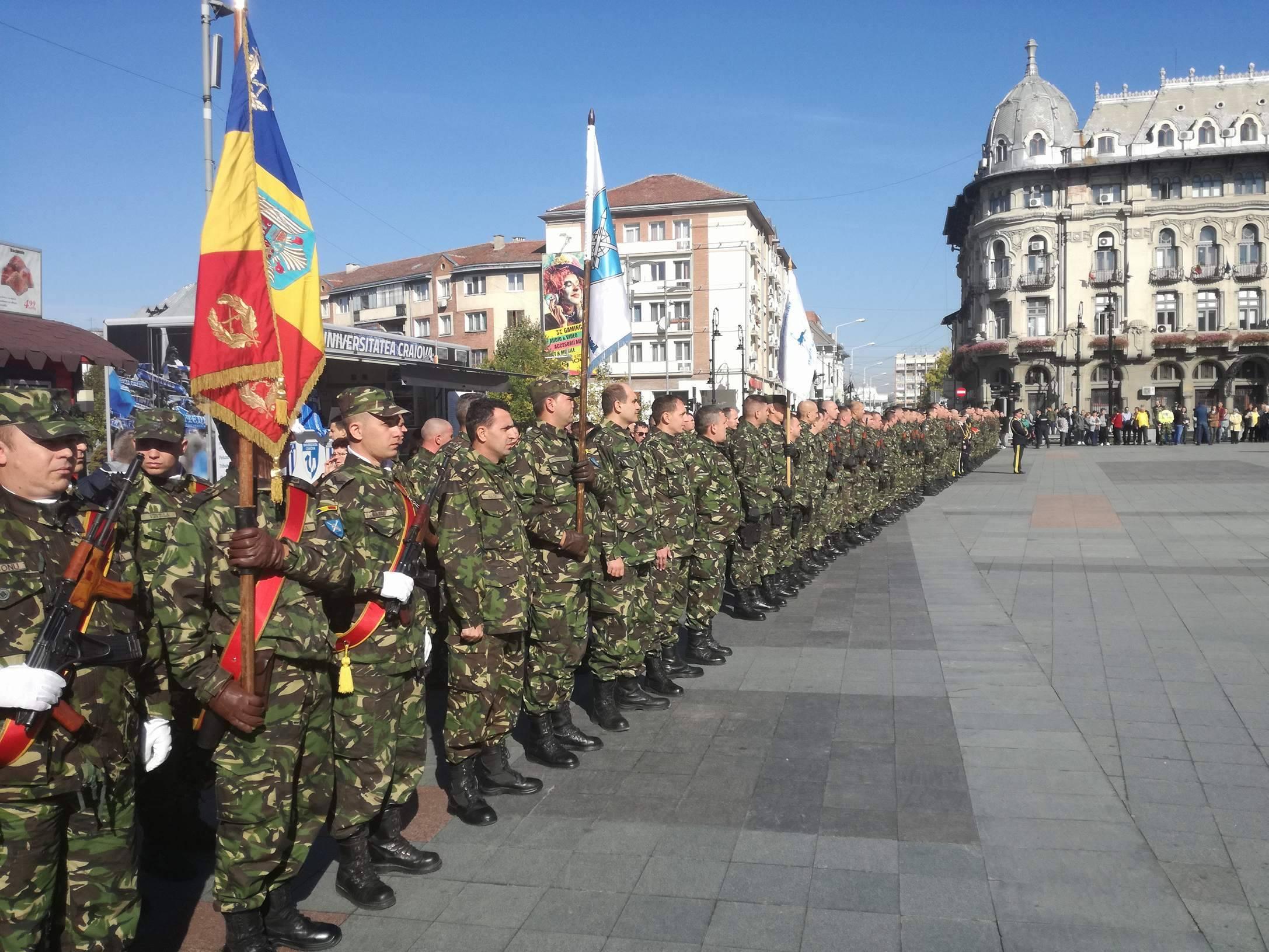 FOTO | Batalionul care a reprezentat România la misiunile Grupului de luptă NATO din Polonia a revenit