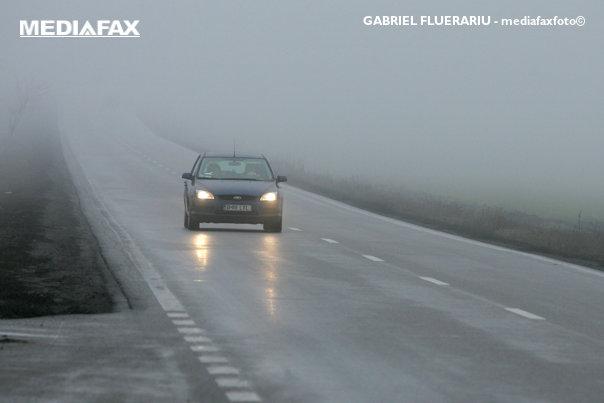 Imaginea articolului Cod galben de ceaţă în şase judeţe din România