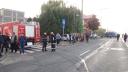 Imaginea articolului FOTO, VIDEO | Şase persoane au fost rănite într-un accident produs de un taximetrist