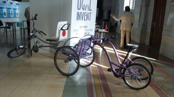 Imaginea articolului Cea mai rapidă maşină din lume şi bicicleta cu cinci locuri, vedetele Salonului Inovării din Galaţi | FOTO